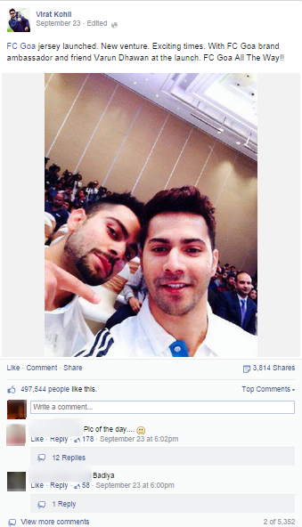 top-5-facebook-celebrities-india-Virat-Kohli