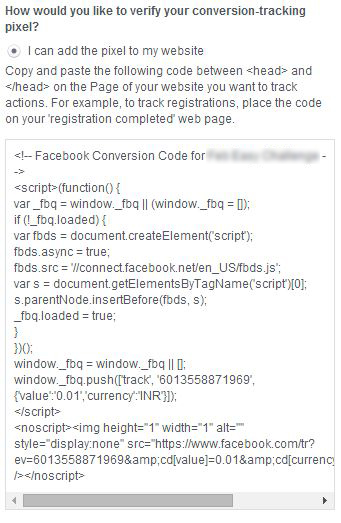 tracking-conversions-facebook-ads-tracking code